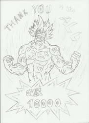 Thanks for over 10000 page views by Ukog