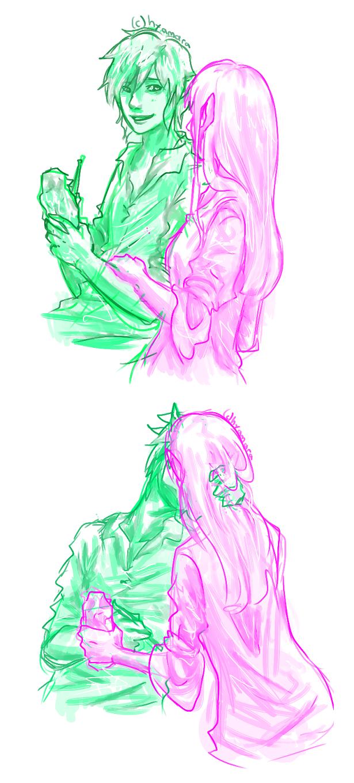 Zelink doodle by hyamara