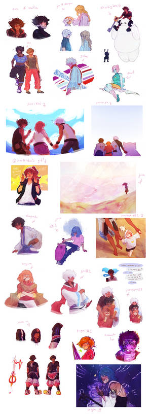doodle dump #16