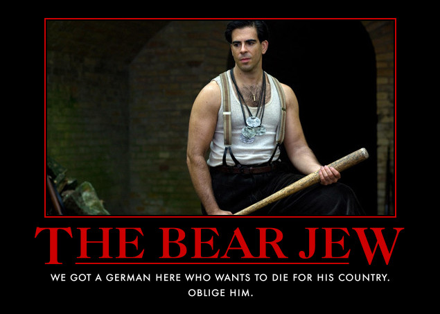 Eli Roth as Sgt Donny The Bear Jew Donowitz in