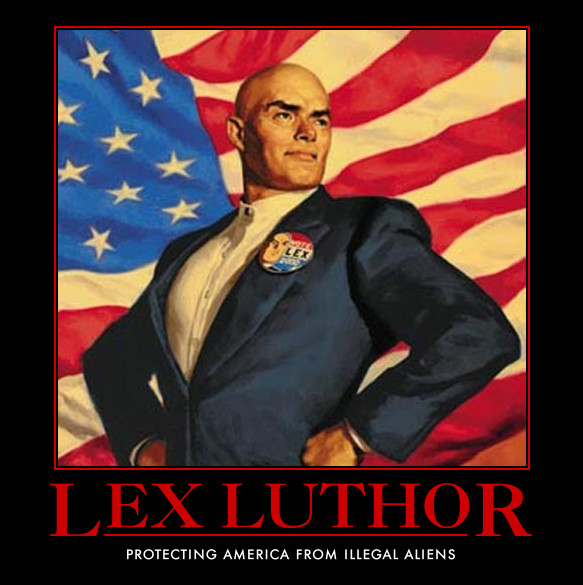 Lex Luthor by AwesomenessDK PLOT TWIST: LEX LUTHOR Will NOT Have Hair and… Tattoos?!