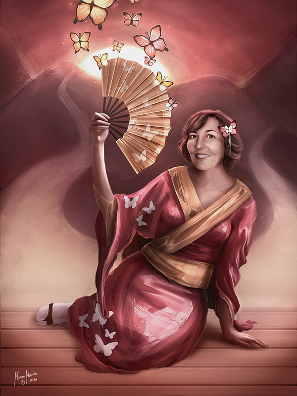 Kimmidoll: Michiko by MonicaMarinho