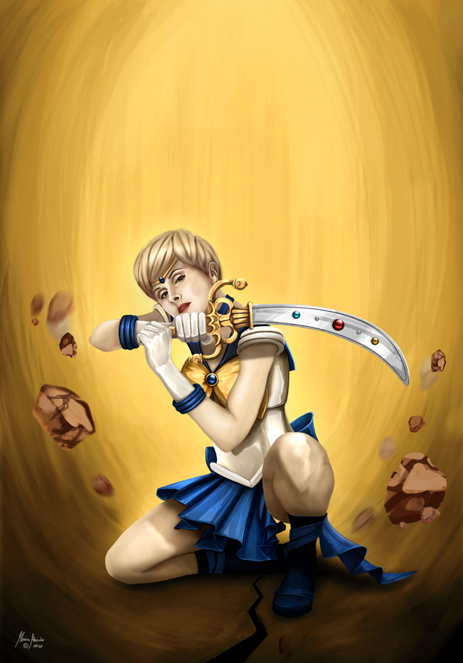 Sailor Uranus by MonicaMarinho