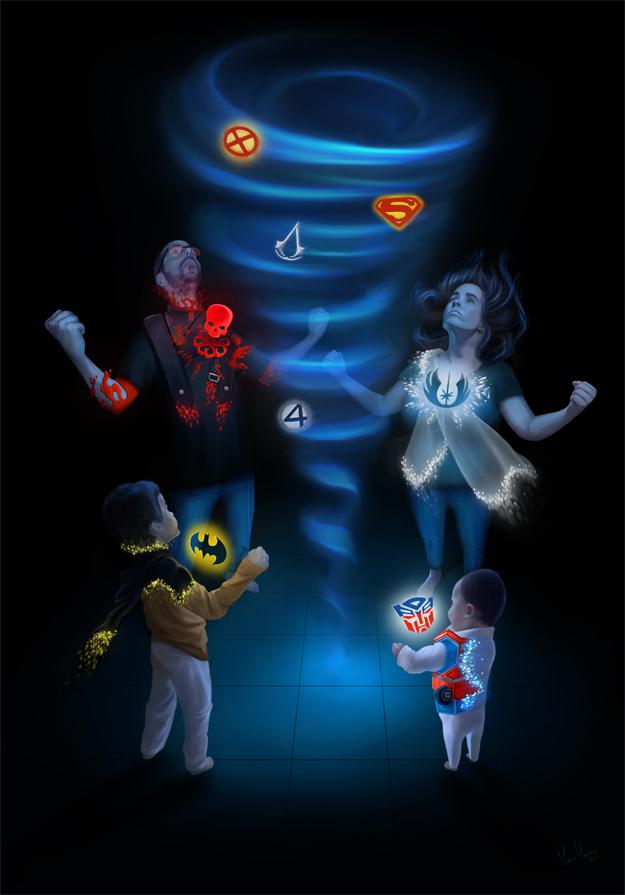 The Super Maians by MonicaMarinho
