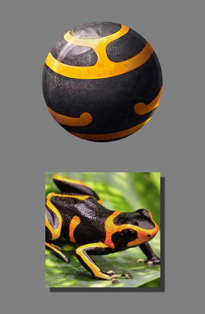 Texture Study 03 - Frog by MonicaMarinho