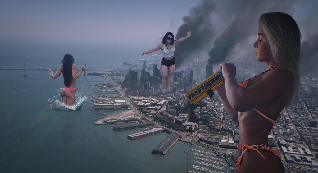 Big City Rampage by ureich