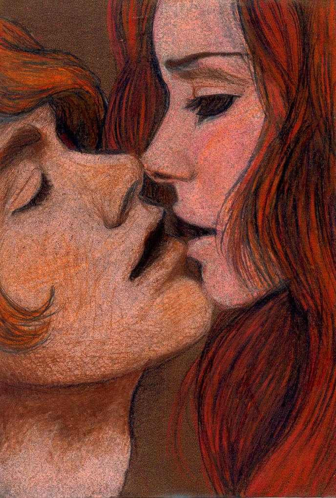 Edward and Bella by rainyXskyz