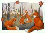 Frisky Foxes