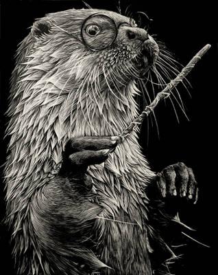Harry Otter by rainyXskyz