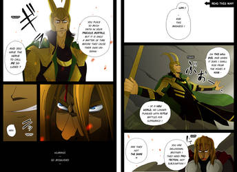 Avengers 2012 Alternate Ending 'Goodbye' p3-4 by clairebearer