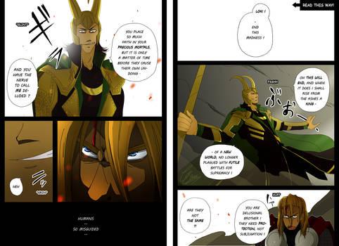 Avengers 2012 Alternate Ending 'Goodbye' p3-4