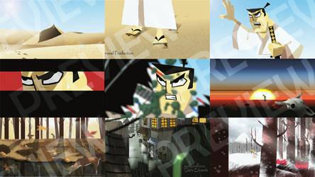 Samurai Jack Animation Test by clairebearer