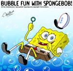 Bubble fun with Spongebob