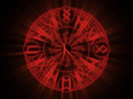 Rune Magic Circle by rosenkreuz