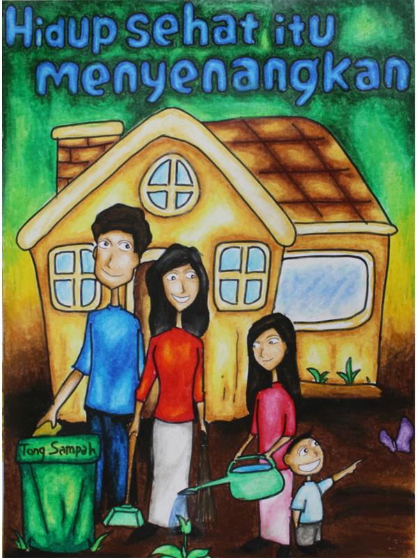 Contoh Gambar Poster Di Lingkungan Sekolah 3 Glorios As