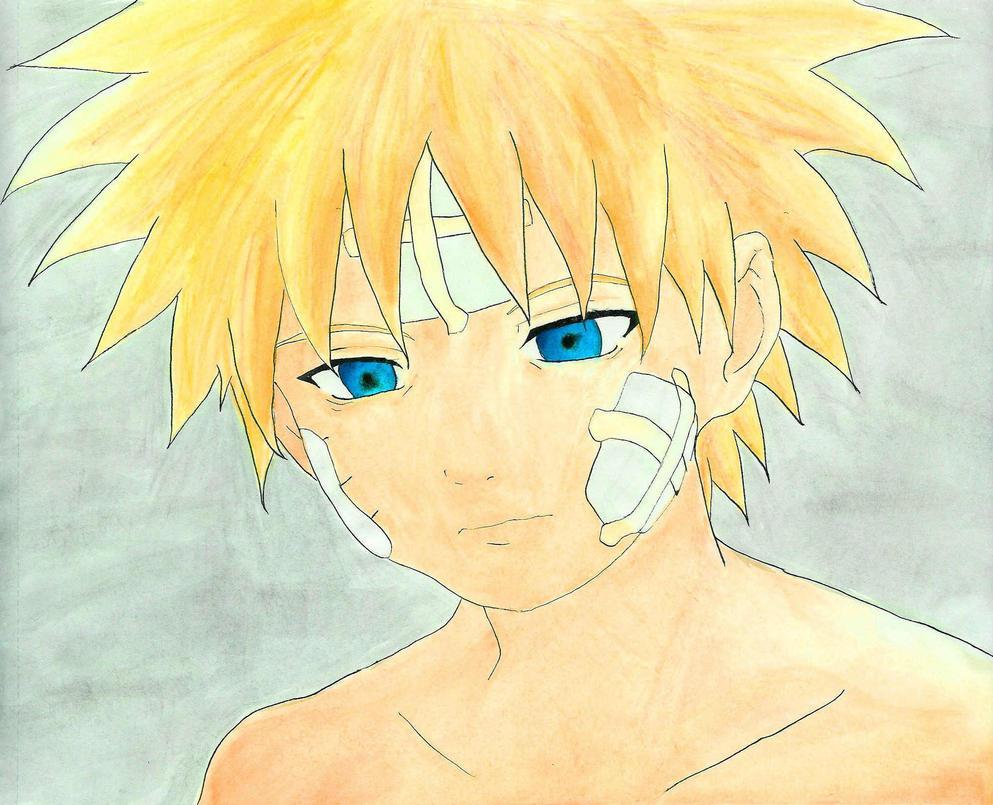 Sad Naruto by Kaori-Kitty