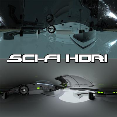 Sci Fi HDRI Set 1 by sicklilmonky