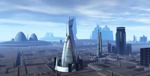 Alien City 001 V7 WIP