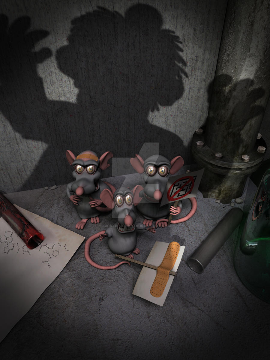 Lab Rats Unite by sicklilmonky