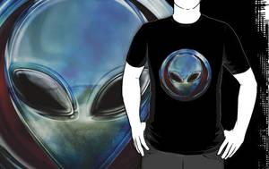 Metal Alien Head 03 T by sicklilmonky