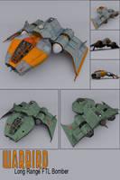 Warbird Bomber by sicklilmonky