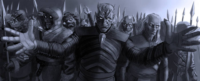 Night King Deviantart arrows