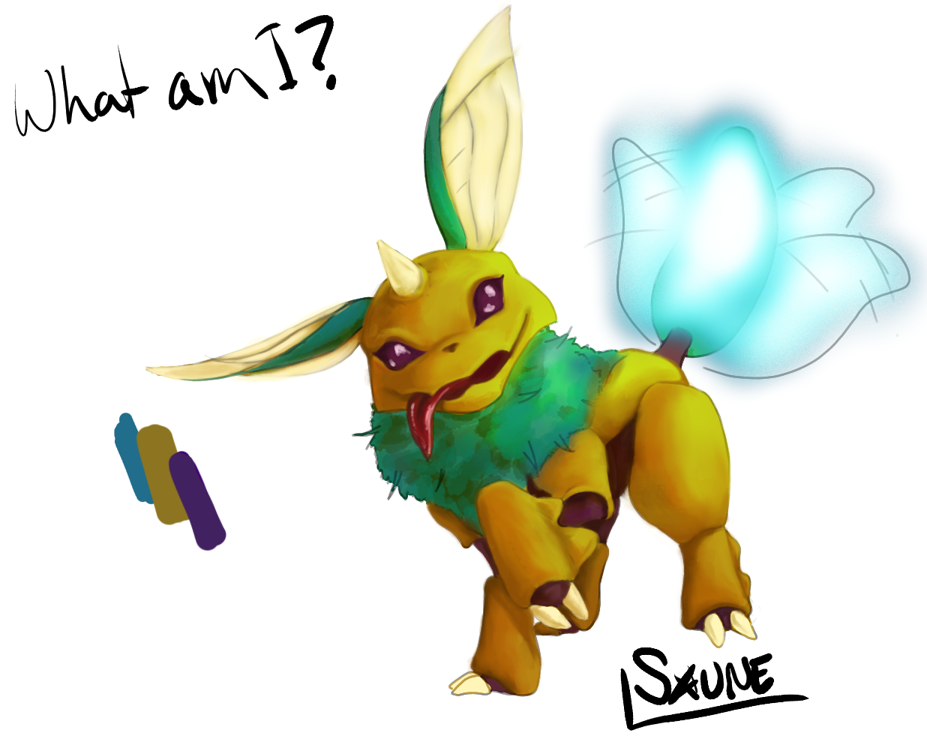 PW13- bug-type Eevee (proper name pending) by Saune on ...