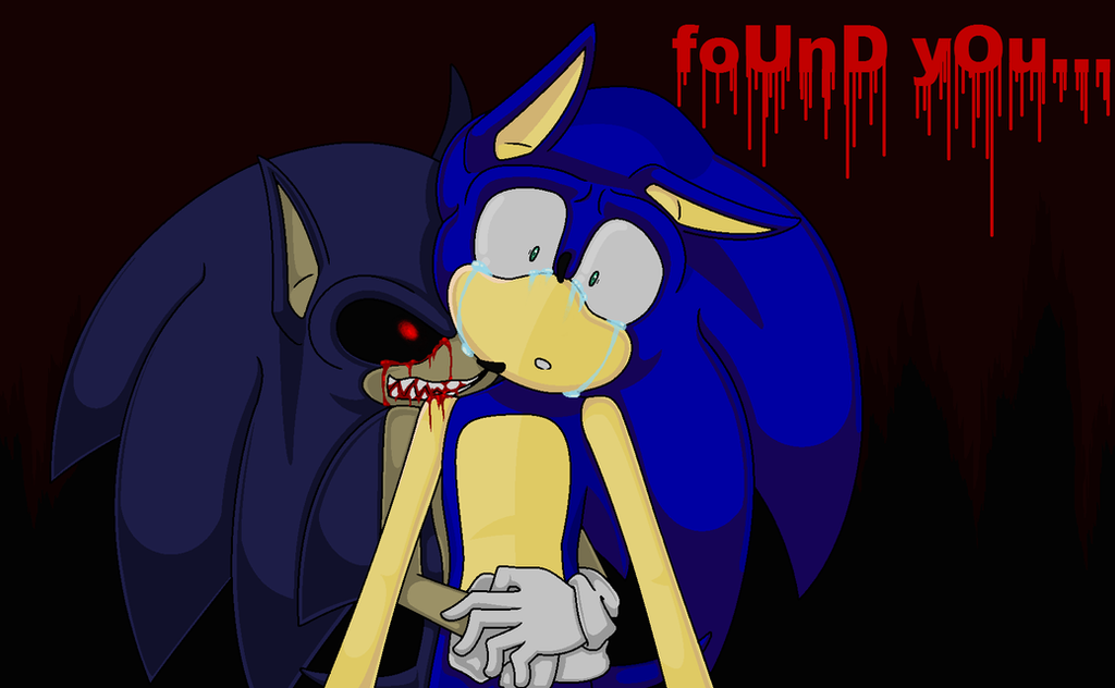Sonic exe and sonic found you by sonikclassik on deviantart