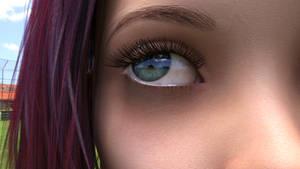 Inktober: Eyelash