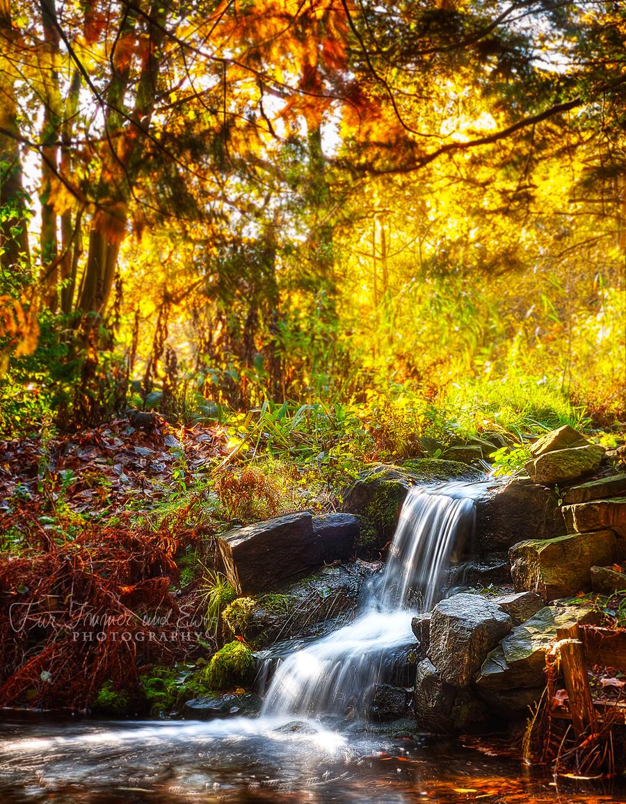 Magic Waterfall by FurImmerUndEwig