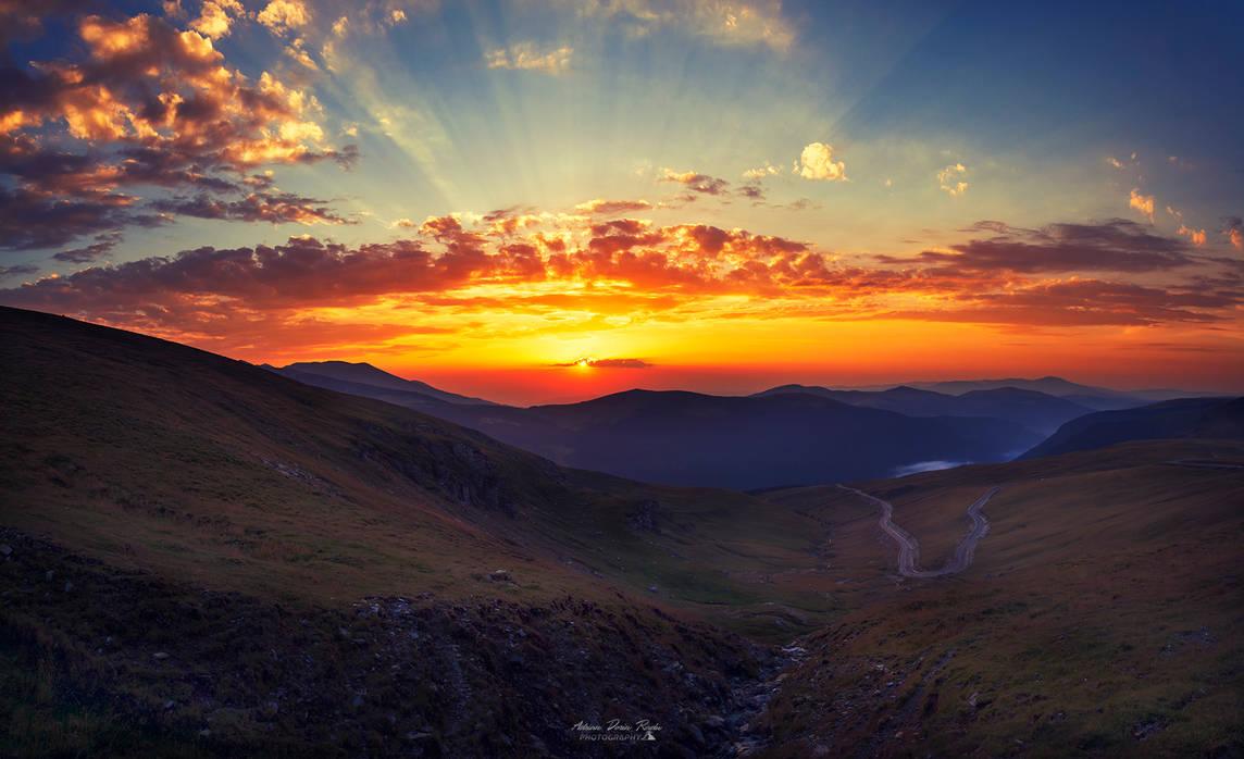 Sunset fantasy by trekking-triP