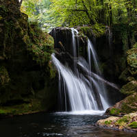Waterfall in the Banat mountains