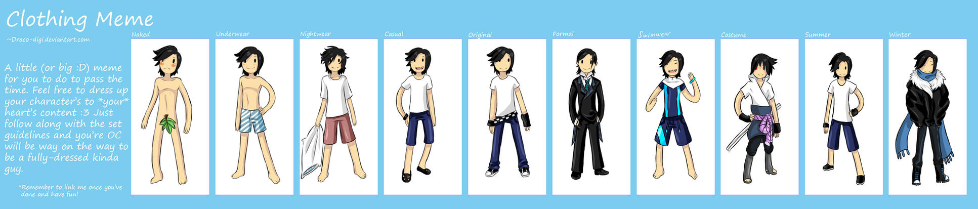 Evin Clothes Meme by Ask-Evin