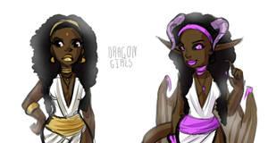 Black dragoness 2 Adoptable by DawnoftheBlueMoon