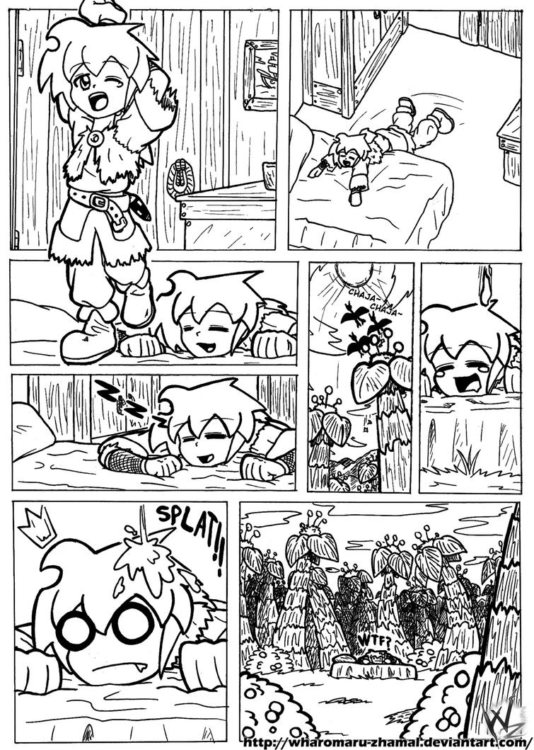Mini Manga - Another World by Wharomaru-Zhamal