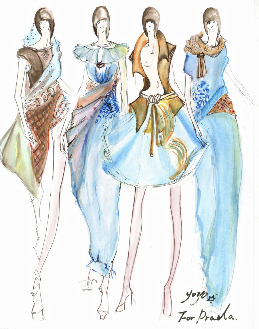 Fashion Design Sketches 2013