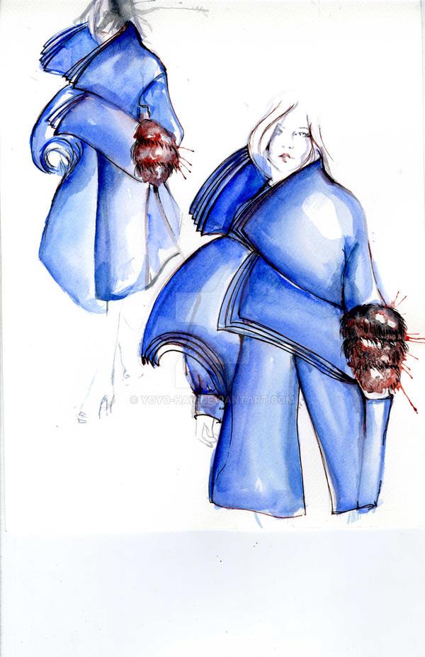 yoyo han fashion design illustration by yoyo-han