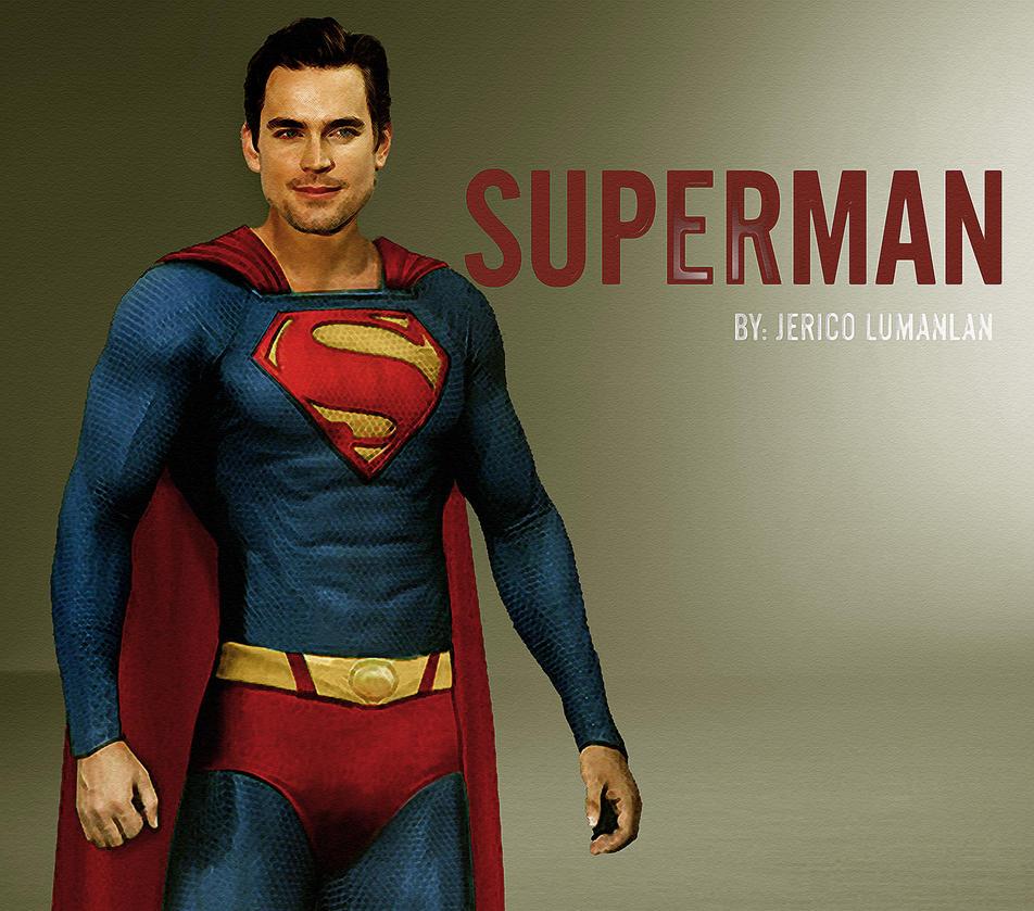 Matt Bomer as Superman...
