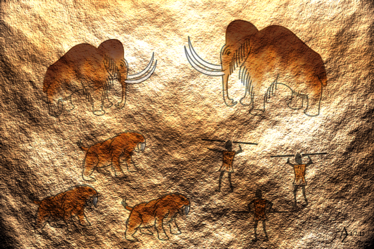98 Sketch Wallpapers Wallpaper Cave Sketches Wallpapers: Cave Painting By Azophel On DeviantArt