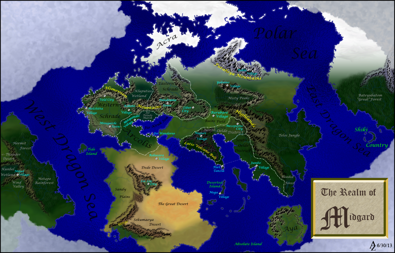 Monster Hunter Map by Azophel on DeviantArt on map dallas, map wings, map navy,