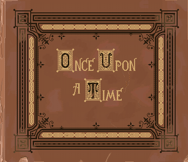 Story Book Cover Once Upon A Time