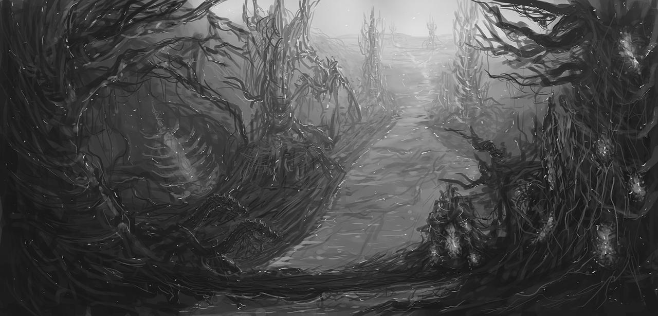 Forest Of Impending Evil by Narandel