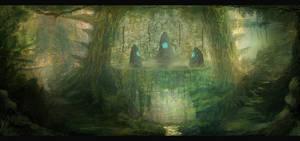 Forgotten Ruins by Narandel