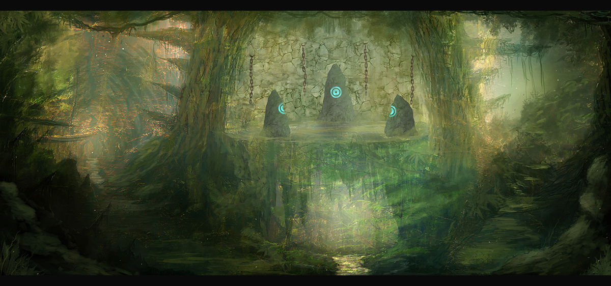 Forgotten Ruins by Narandel