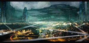 Sci-Fi Cityscape 01