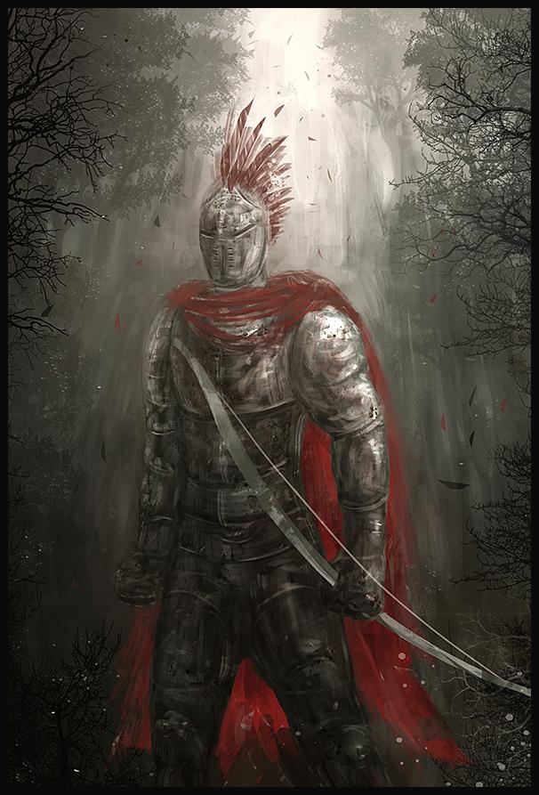 Knight Archer by Narandel