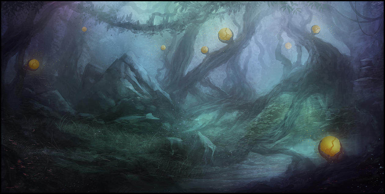 Mythical Forest by Narandel
