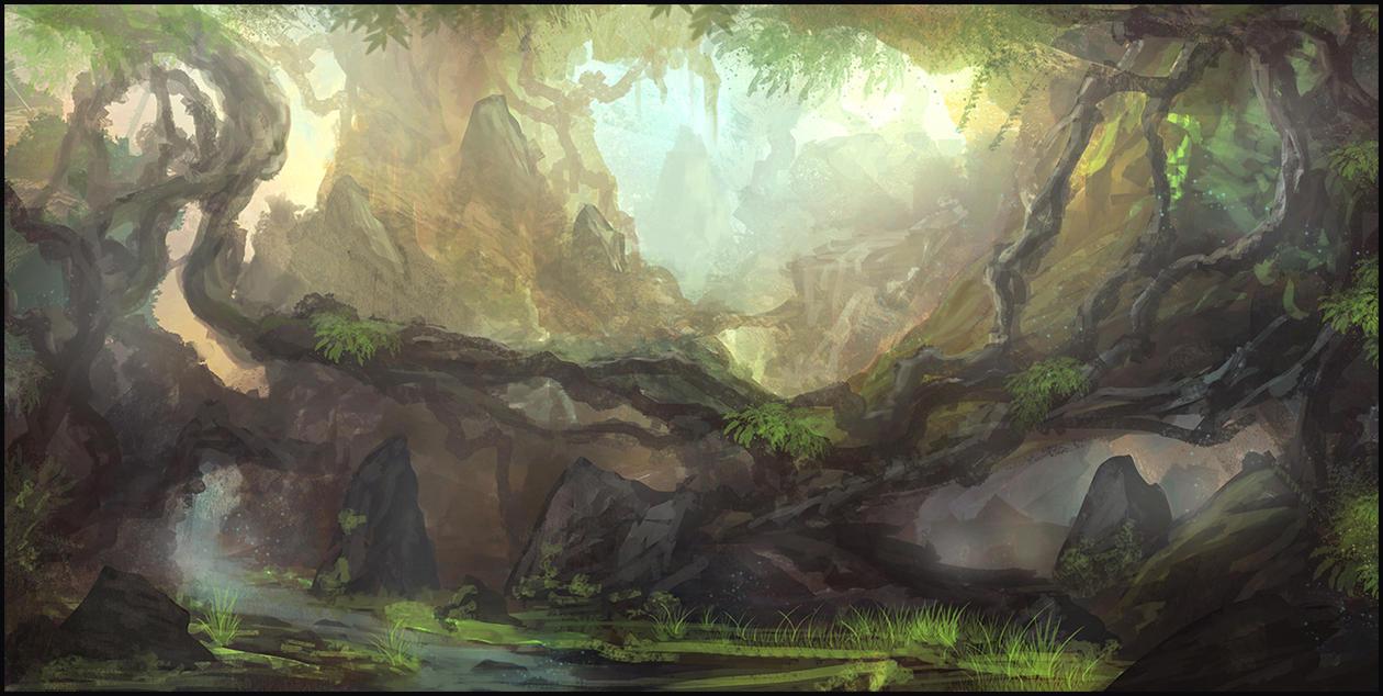 Jungle Paradise by Narandel