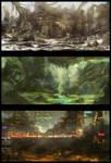 Environment Sketches 1