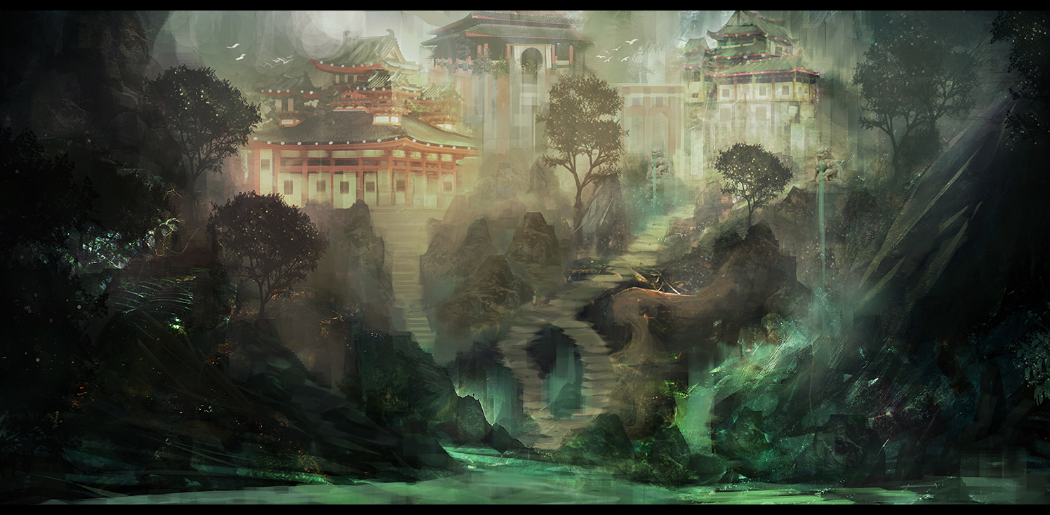 Forbidden Kingdom by Narandel